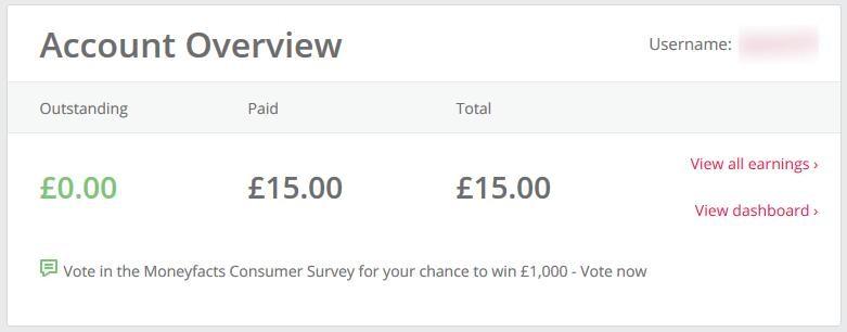 mein Einkommen mit topcashback.co.uk