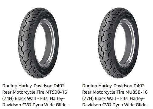 Harley Davidson Tires Guide